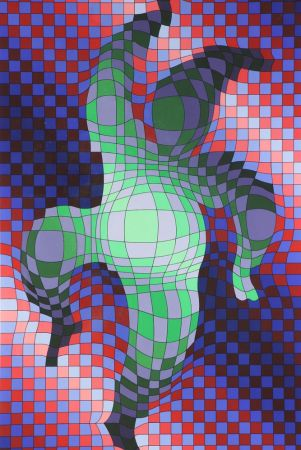 Multiple Vasarely - Harlequin