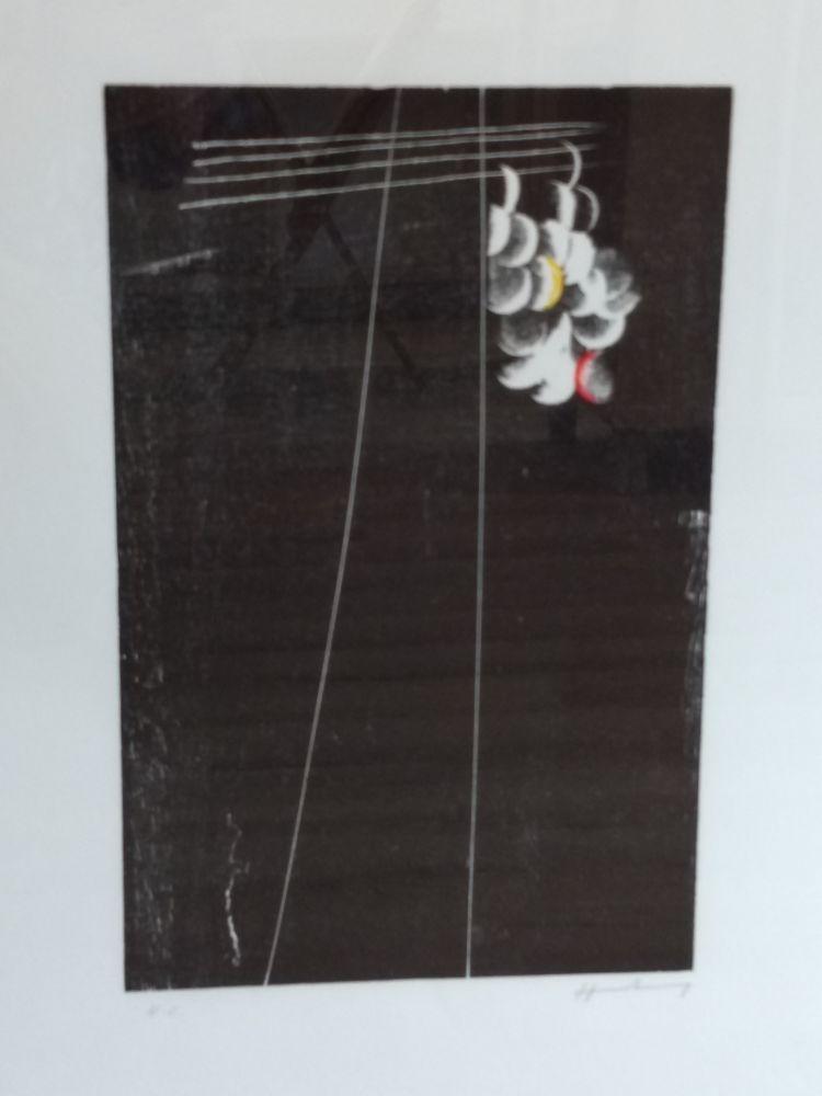 Lithograph Hartung - Hartung