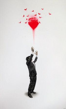 Screenprint Walker - Haunted Love