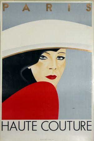 Lithograph Razzia - Haute Couture  Paris