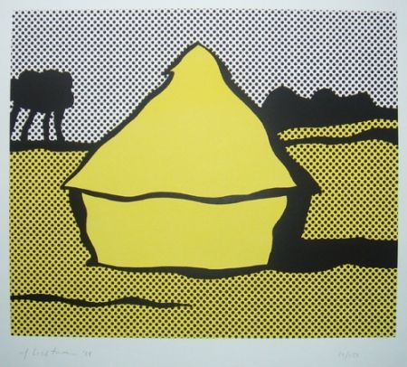 Screenprint Lichtenstein - Haystack
