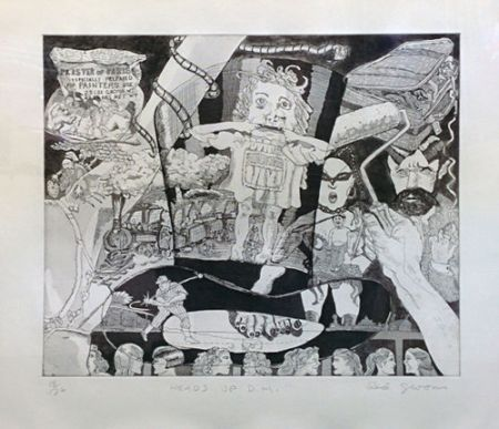 Etching And Aquatint Grooms - HEADS UP D.H.