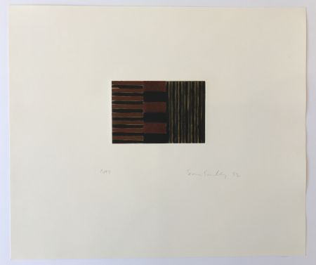 Etching And Aquatint Scully - Heart of Darkness 3