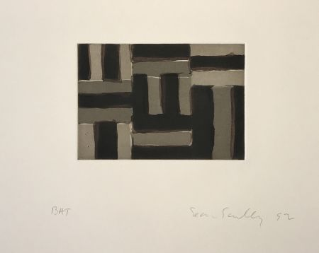 Etching And Aquatint Scully - Heart of Darkness 6