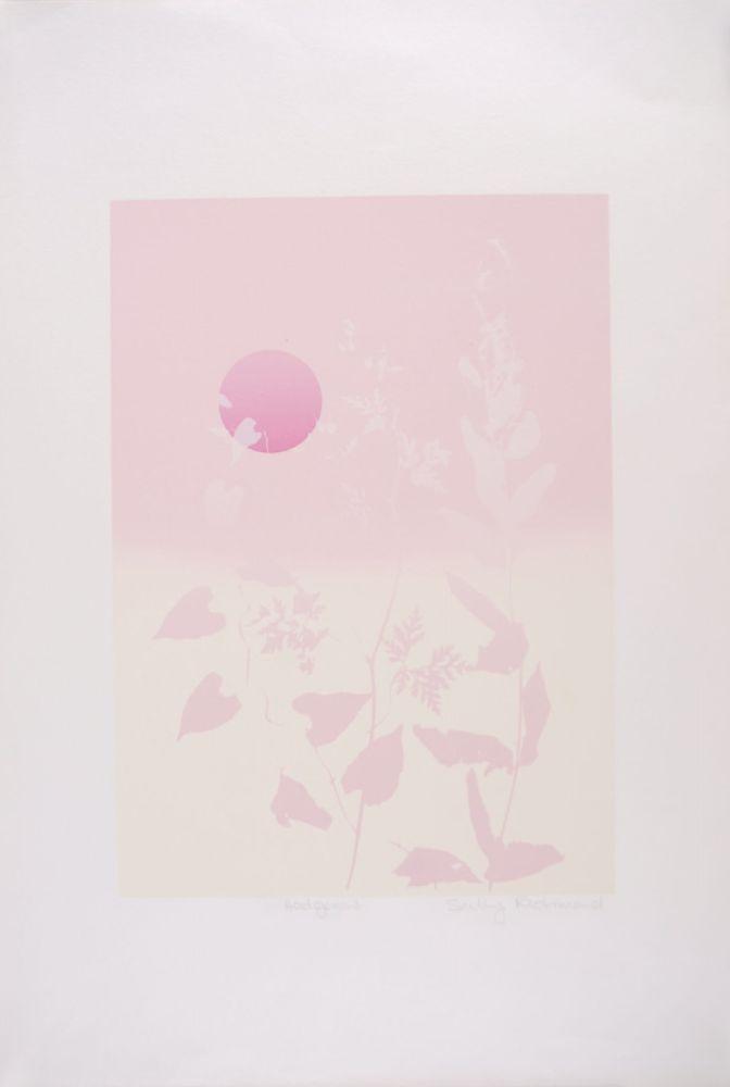 Screenprint Richmond - Hedgerow - Haie
