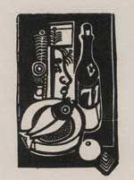 Woodcut Campendonk - Heinrich Campendonk. Das Graphische Werk.