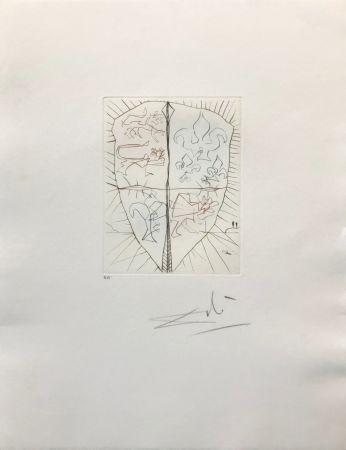 Etching Dali - HENRY V (B)