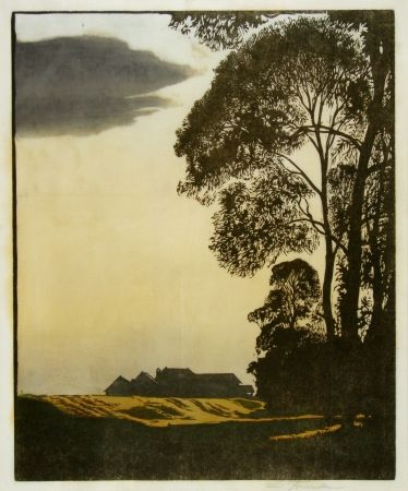 Woodcut Frank - Herbstnachmittag (Afternoon In Autumn)