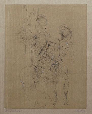 Drypoint Bellmer - Hermaphrodite
