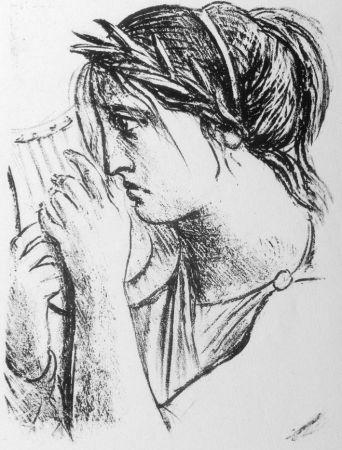 Lithograph Messina - Hermione Oresti