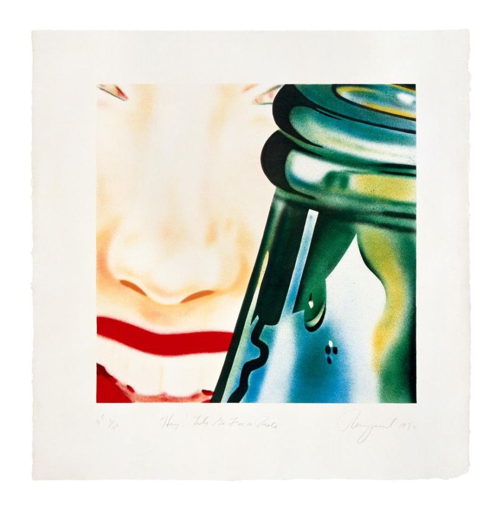 Lithograph Rosenquist - Hey Lets Go For A Ride