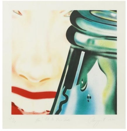 Lithograph Rosenquist - Hey! Let's go for a ride