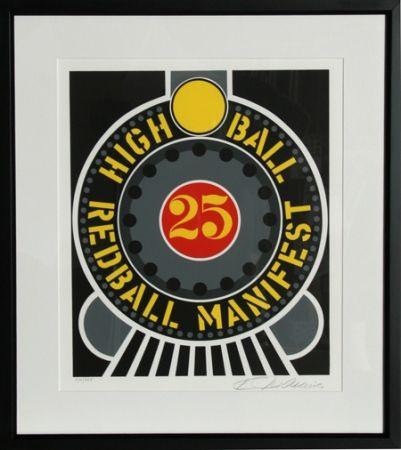 Screenprint Indiana - High Ball Redball Manifest