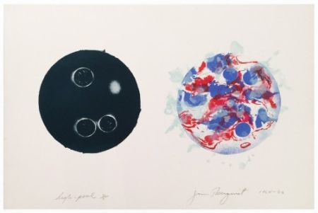 Lithograph Rosenquist - High Pool