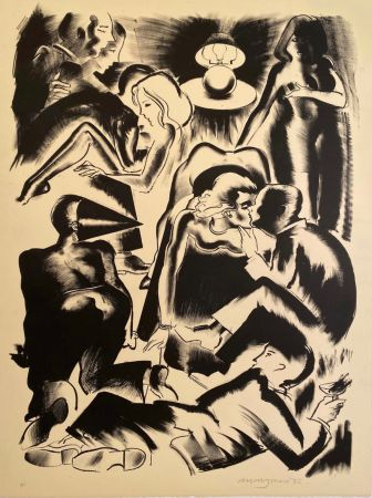 Lithograph Jones - High Society