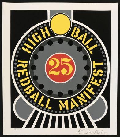 Screenprint Indiana - Highball on Redball Manifest