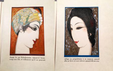 Illustrated Book Schmied - HISTOIRE DE LA PRINCESSE BOUDOUR. Conte des mille et une nuits. (1926)