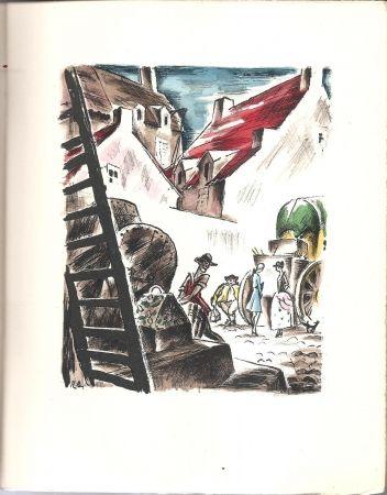 Illustrated Book Bonfils - Histoire de Manon Lescaut et du Chevalier des Grieux.