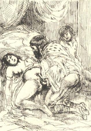 Illustrated Book Brouet - Histoire du roi Gonzalve et des douze princesses
