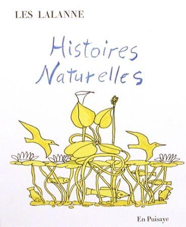 Illustrated Book Lalanne - Histoires naturelles,