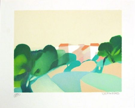 Lithograph Defossez - Holiday in St. Tropez