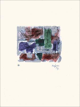 Lithograph Bazaine - Hollande III