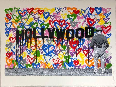 Screenprint Mr. Brainwash - Hollywood