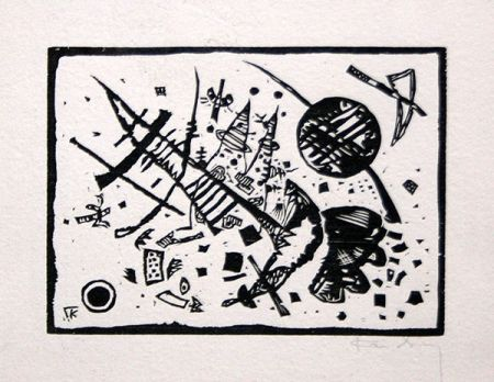 Woodcut Kandinsky - Holzschnitt für die Ganymed-Mappe (from Der Dritten Ganymed-Mappe)