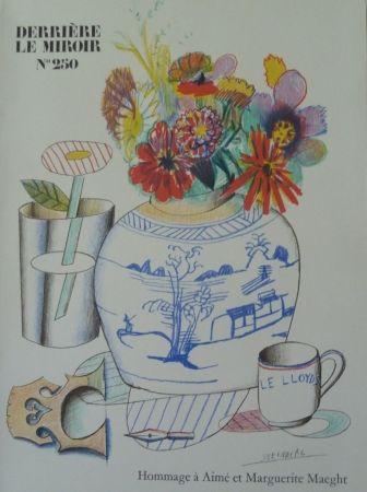 Illustrated Book Miró - Homage à Aimé et Marguerite Maeght