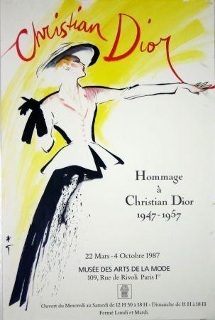 Offset Gruau - Homage à Christian Dior