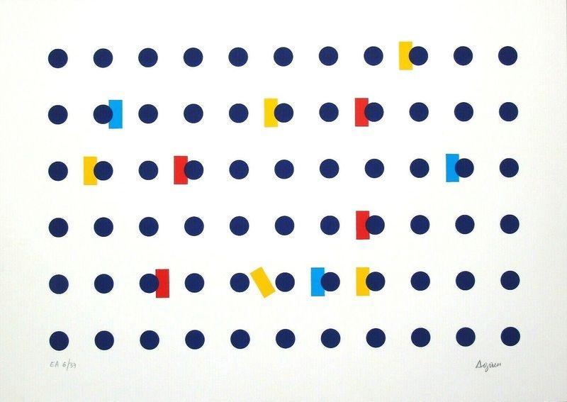 Multiple Agam - Homage to Federico Garcia Lorca I