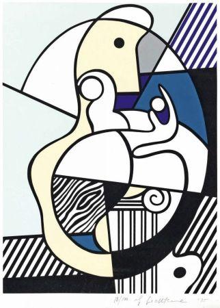 Screenprint Lichtenstein - Homage To Max Ernst