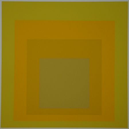 Screenprint Albers - Homage to the Square