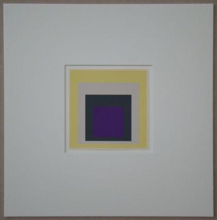 Screenprint Albers - Homage to the Square - Dedicated