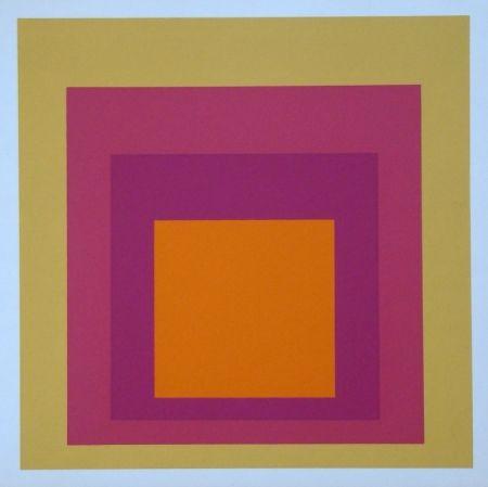 Screenprint Albers - Homage to the Square - La Tehuana, 1951-1956