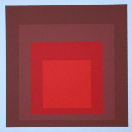 Screenprint Albers - Homage To The Square - R-I D-5, 1969