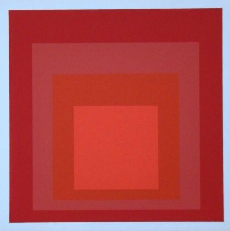 Screenprint Albers - Homage to the Square - R-III a-4, 1968
