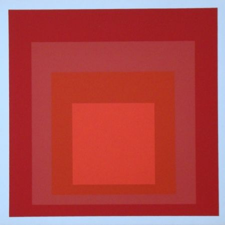 Screenprint Albers - Homage to the Square - R-III a-4, 1968