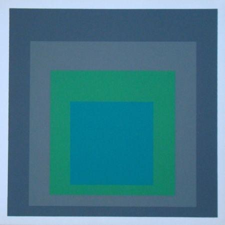 Screenprint Albers - Homage to the Square - Renewed Hope, 1962