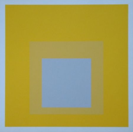 Screenprint Albers - Homage to the Square - Selected, 1959