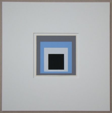 Screenprint Albers - Homage to the Square - Unconditioned