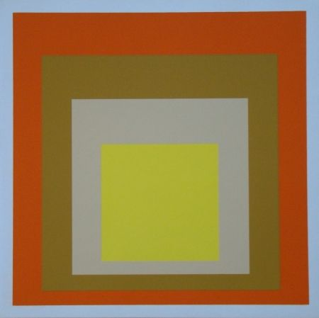 Screenprint Albers - Homage to the Square - Yes Sir, 1955