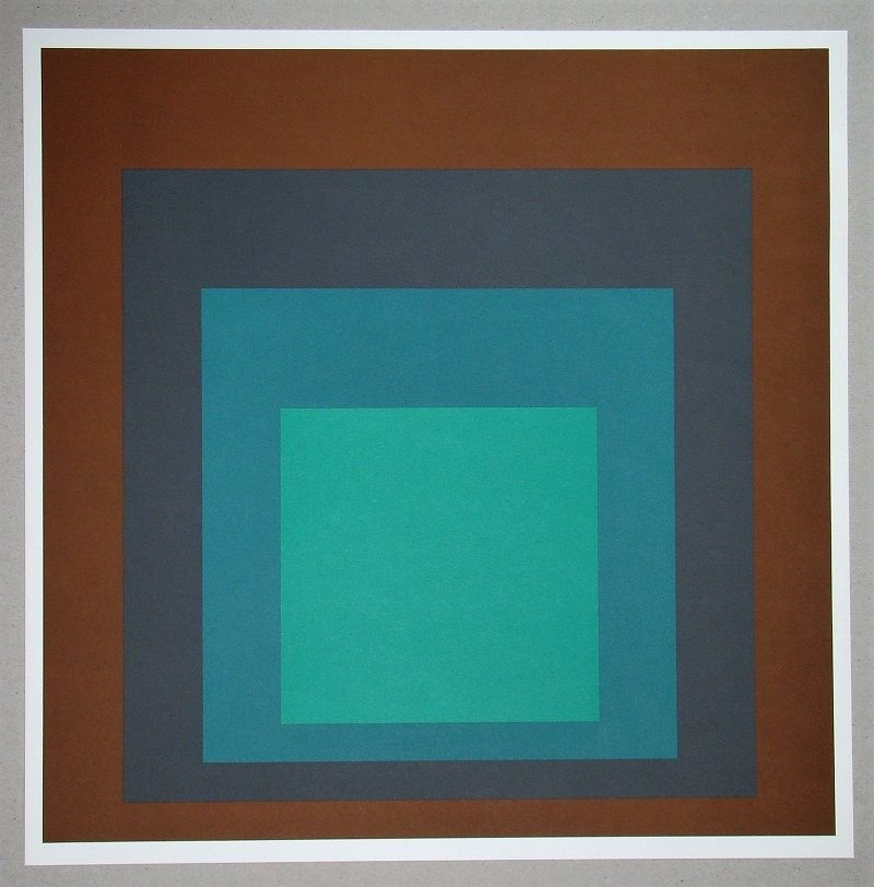 Screenprint Albers - Homage to the Square SP-1
