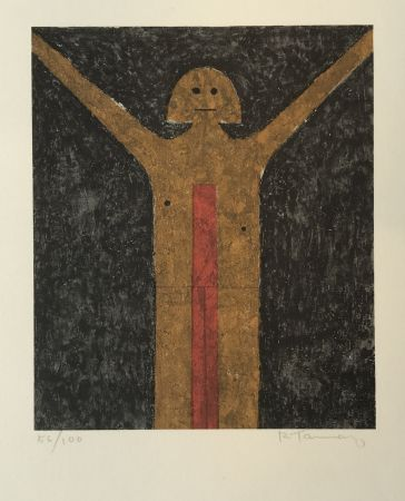 Lithograph Tamayo - Hombre (Man)