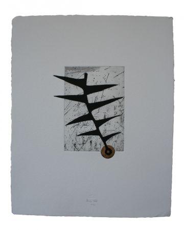 Etching And Aquatint Baroja-Collet - Homenaje A Berta Belaza
