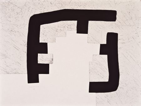 Etching And Aquatint Chillida - Homenaje a Heidegger