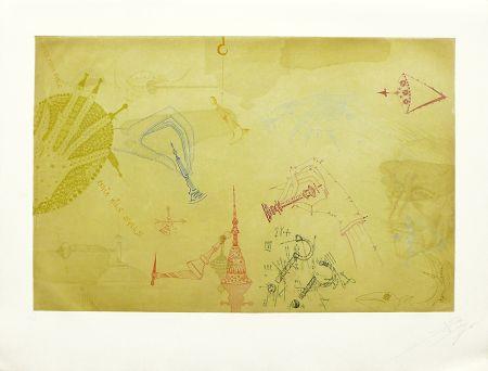 Etching And Aquatint Ponç - Homenaje a Marcel Duchamp