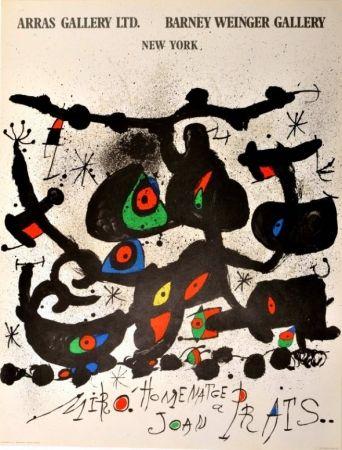 Poster Miró - Homenatge a Joan Prats Arras Gallery