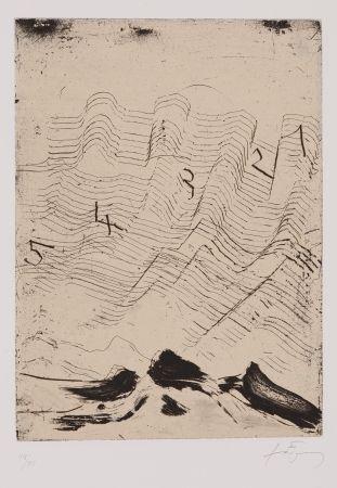 Etching And Aquatint Tàpies - Homenatge a Max Ernst