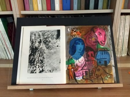 Illustrated Book Chagall - Hommage